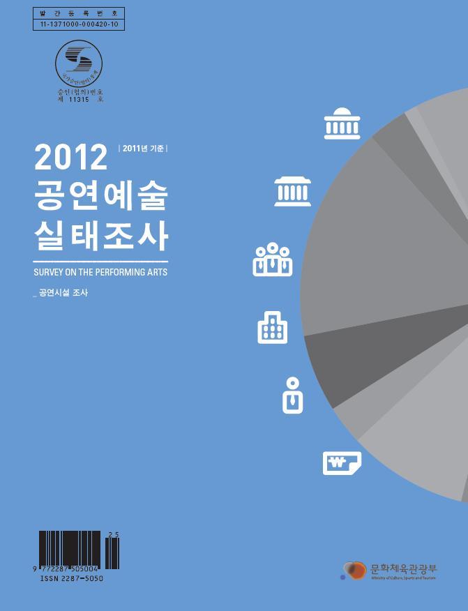 2012 공연예술실태조사(2011년 기준)