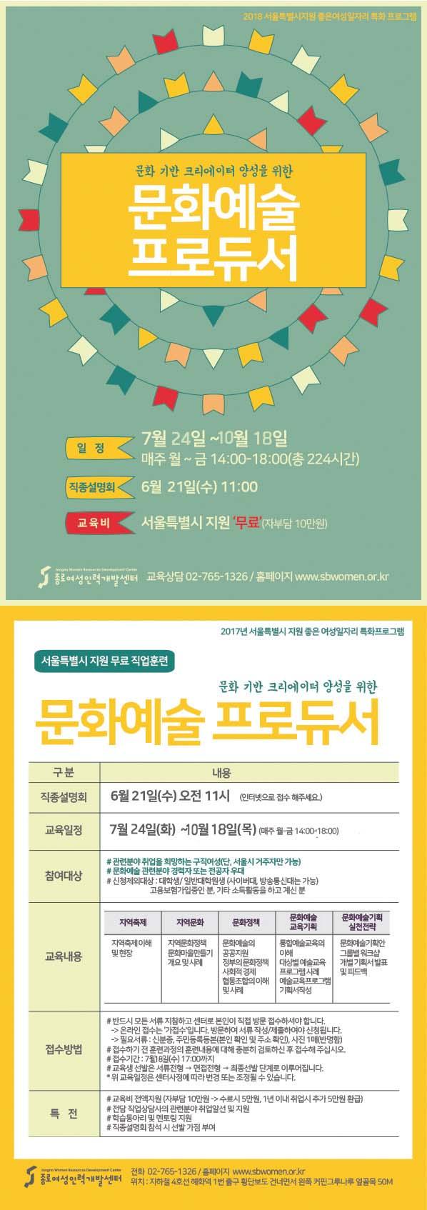 [서울시지원교육] 문화예술프로듀서이미지1