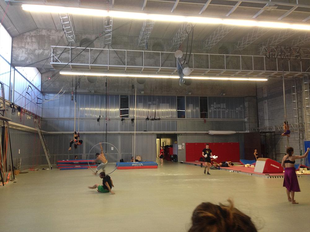 Central del Circ, 서커스 예술가들의 레지던시