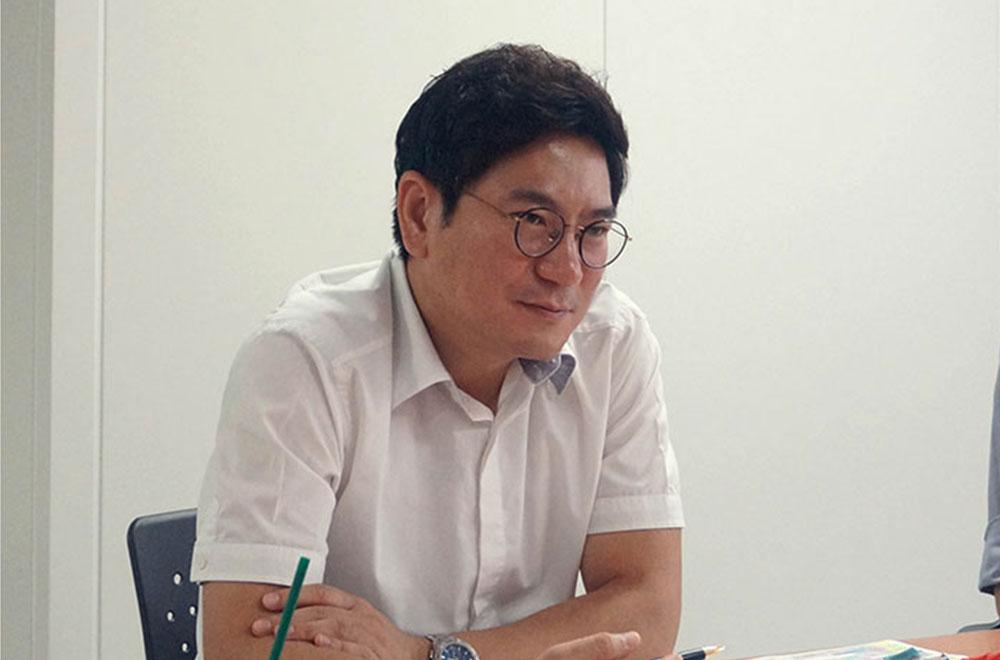 클립서비스 정기훈 부장(우)