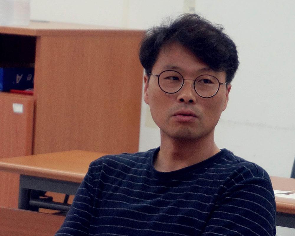 한국문화예술교육진흥원 장희경 팀장(좌)과 서울문화재단 정일한 팀장(우)