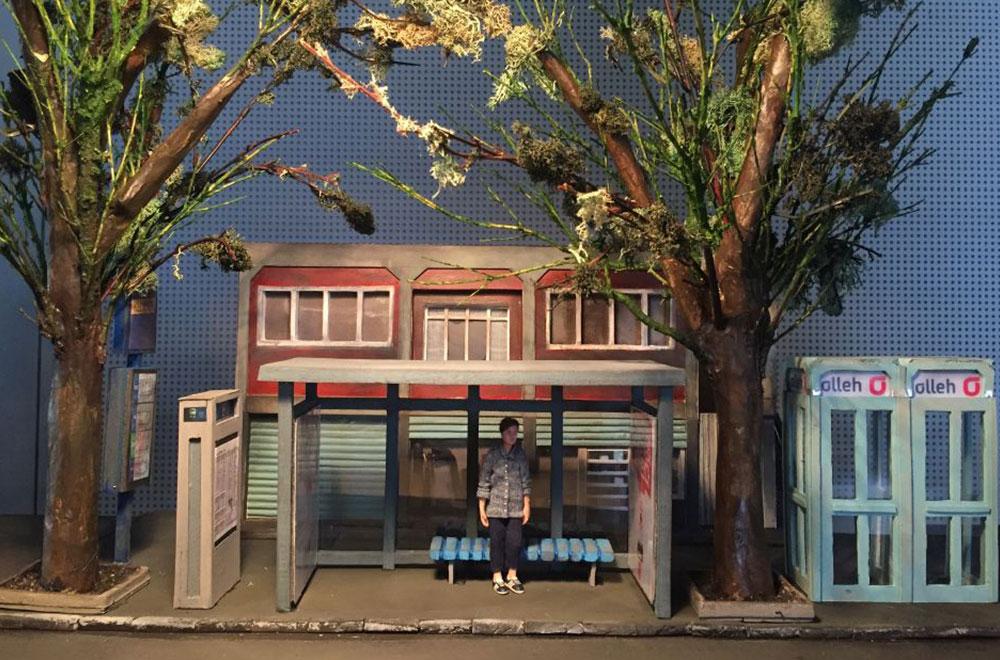 <The boy is coming>에 사용된 미니어쳐 세트 Ⓒ스타리 국립극장