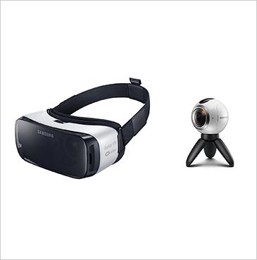 삼성 GEAR VR과 GEAR 360ⓒ삼성