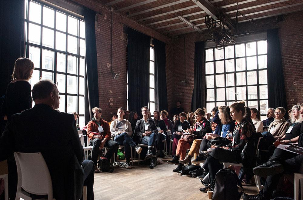벨기에 브뤼셀에서 열린 2017 IETM 총회 모습@IETM 홈페이지