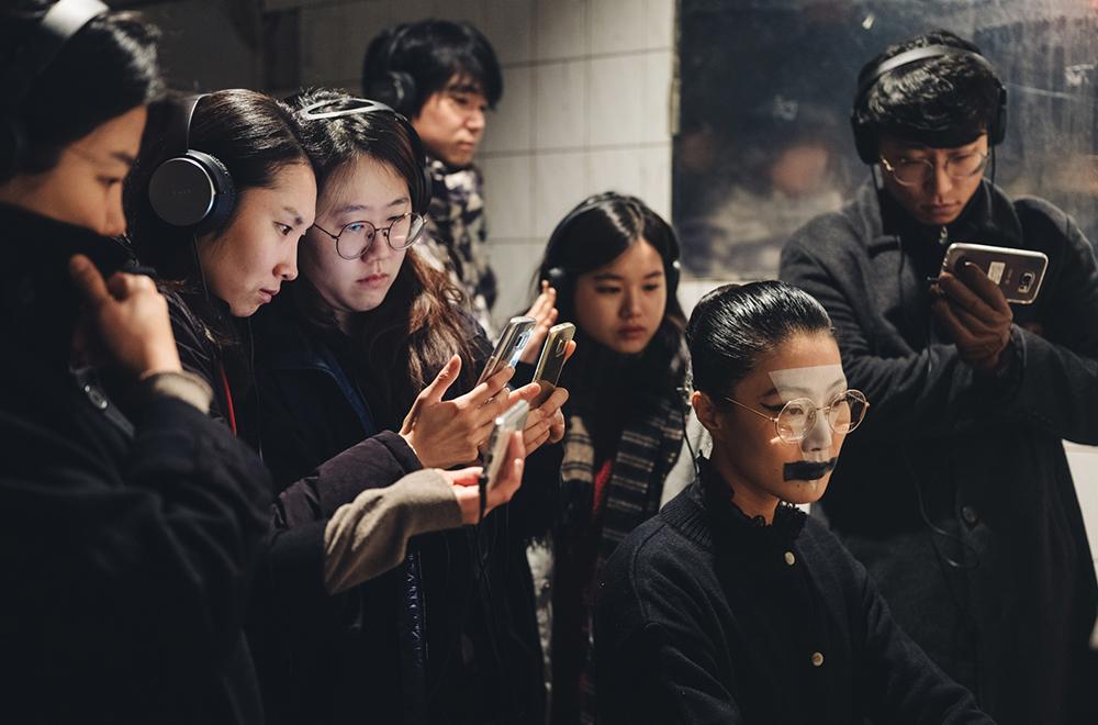 <행화탕 장례날> 진행사진 ⓒ 후즈살롱 촬영: 송광찬