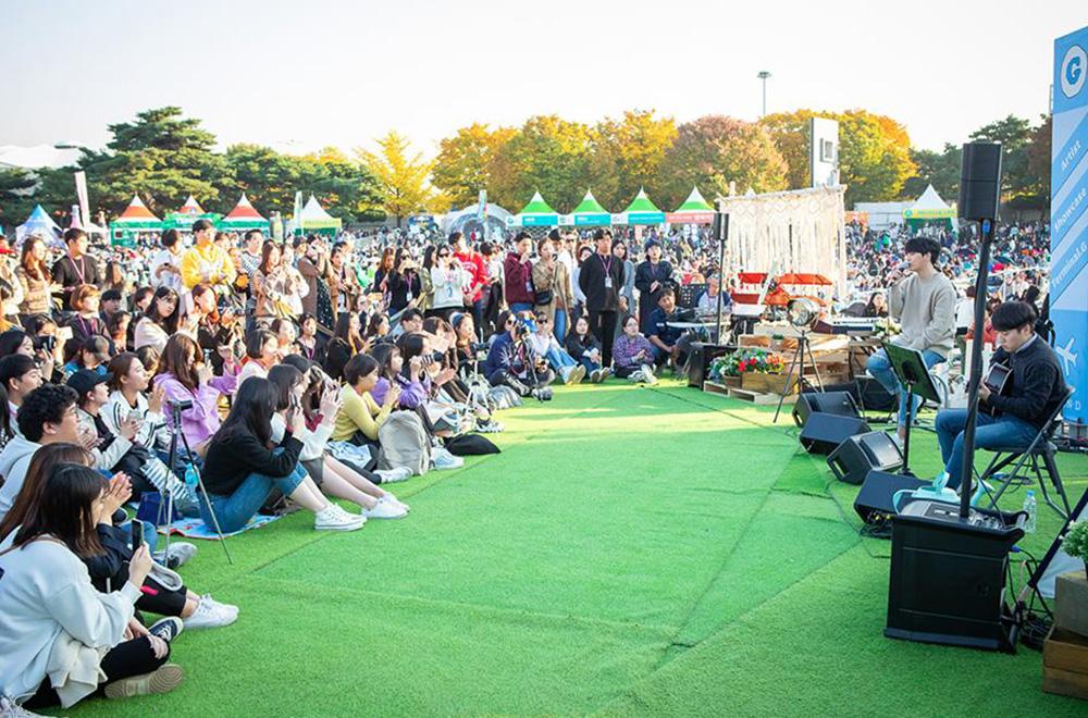야외 피크닉을 테마로 한 페스티벌ⓒ그랜드민트페스티벌 페이스북