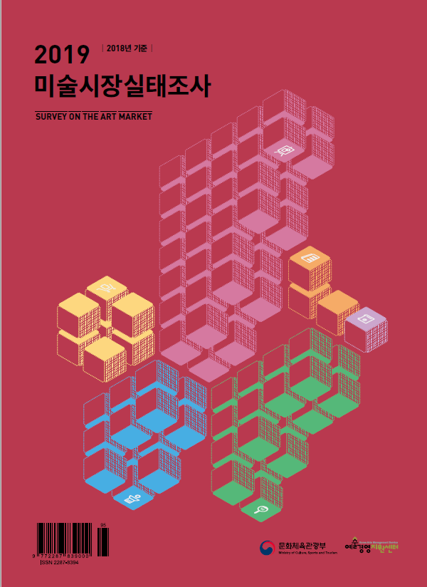 「2019 미술시장실태조사」 (2018년도 기준)