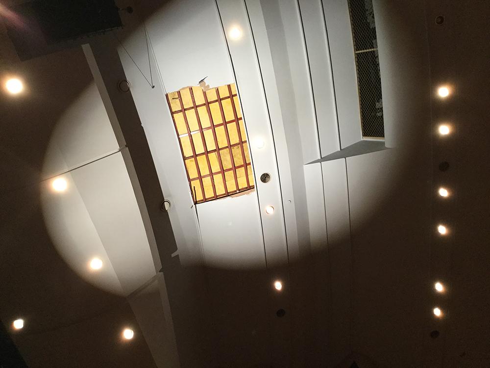 지난 12일 발생한 경주 지진과 계속된 여진으로 포항문화예술회관에 일부 피해가 발생함에 따라 긴급보수를 위해 대공연장을 잠시 휴관하기로 했다. ⓒ포항시시설관리공단