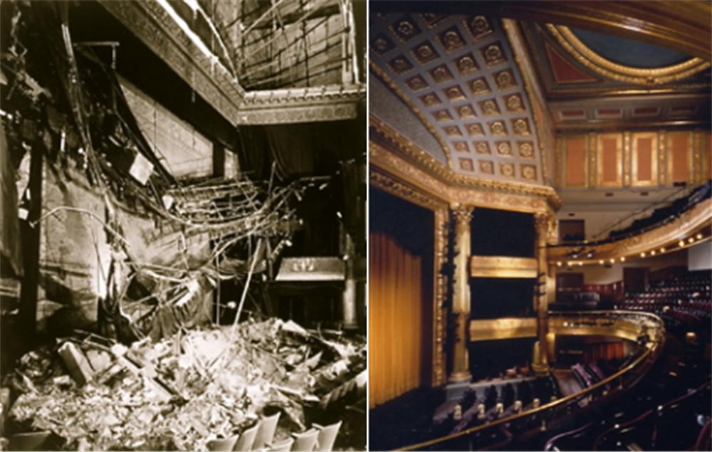 1989년 지진으로 피해를 입은 샌프란시스코 American Conservatory Theater ⓒwww.broadwayworld.com