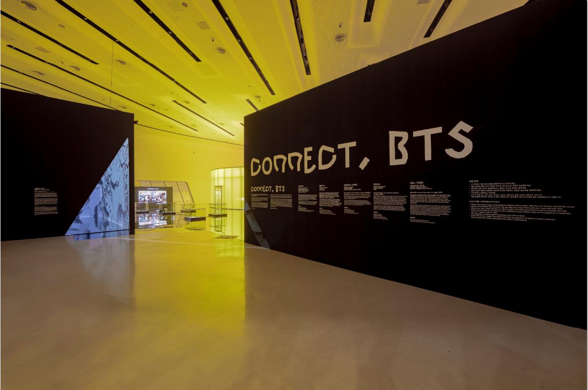 <CONNECT, BTS> 서울 전시 전경ⓒJang Jun-Ho